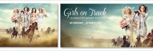 Sarah Johnson and Christina Harman have been completely removed from the 'Girls on Track' promotional image