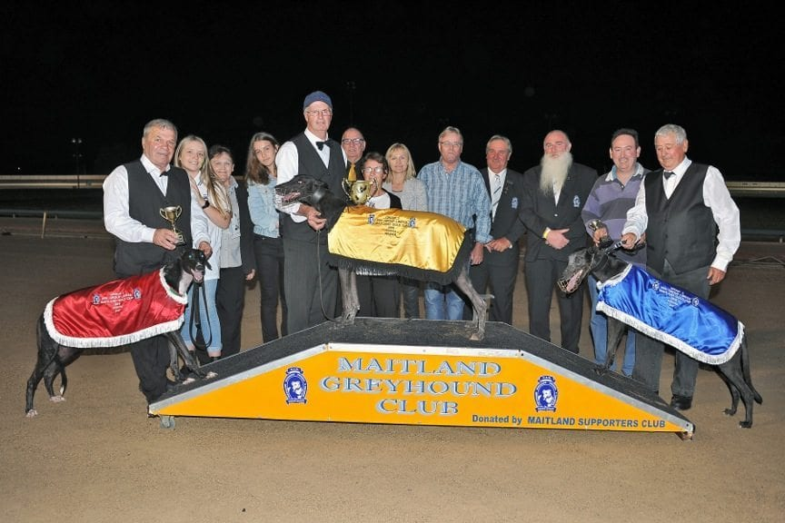 Marbo's Magic after winning Maitland Cup